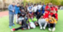 ICHS students, boys girls soccer group.j