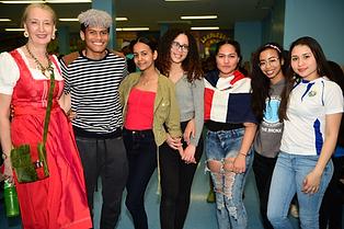 International Community High School Students