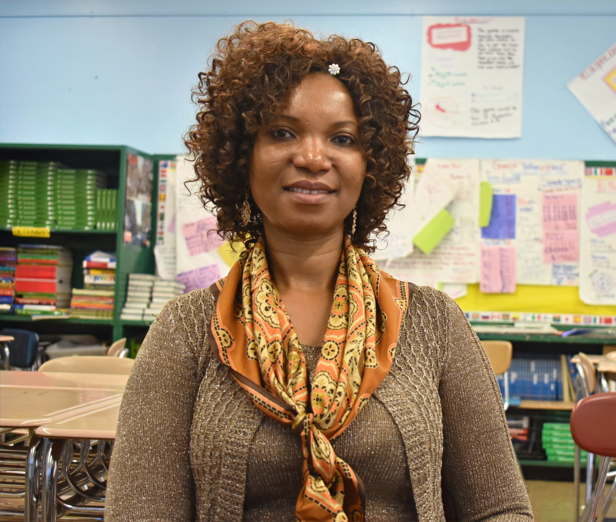 ICHS Teacher Adjoua Kouame Math