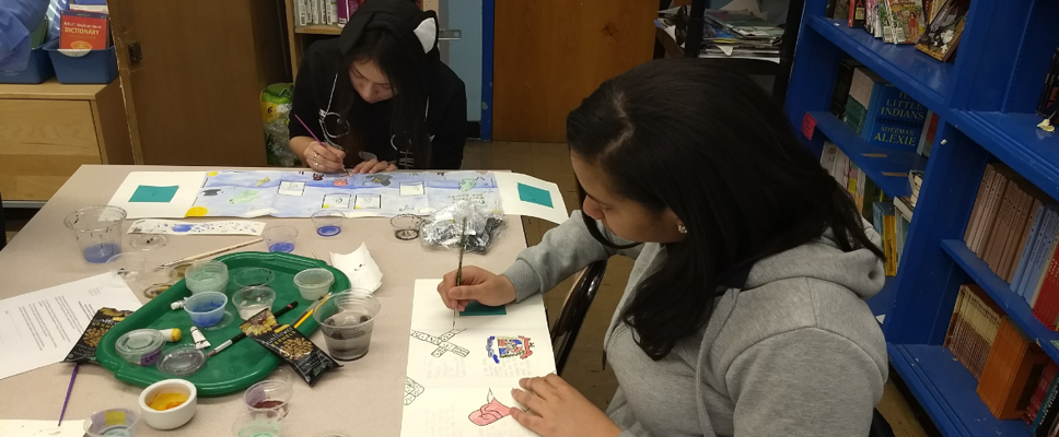 Book-Making Project in English Class