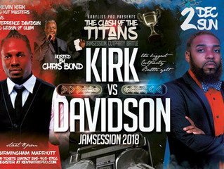 CLASH OF THE TITANS: KEVIN KIRK VS CELEBRITY STYLIST, TERRENCE DAVIDSON!! LIVE AT JAM SESSION 2018
