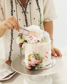flower cake workshop