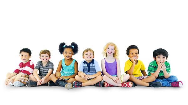Children Kids Happines Multiethnic Group