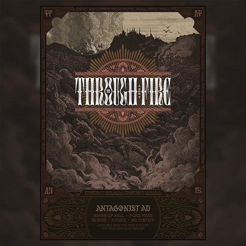 Through Fire Poster Print