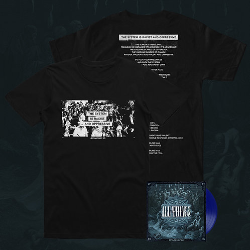 "Bundle: All Things 7"" Vinyl EP + System Tee (Pre-Order)"