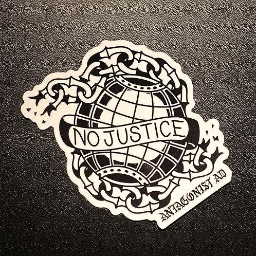 No Justice X JAD Sticker