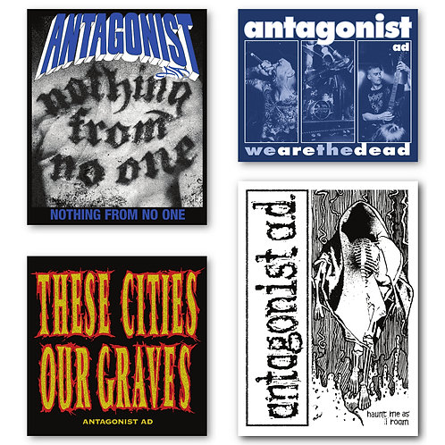 Tribute Stickers 4-Pack (small)