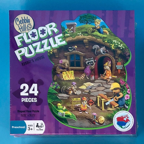 Rabbit's House Floor Puzzle