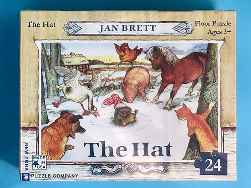 """The Hat"" puzzle-24 peices"