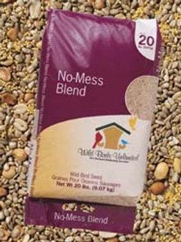20 lb. Wild Birds Unlimited No Mess Blend