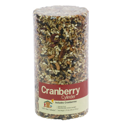 Wild Birds Unlimited Cranberry Cylinder