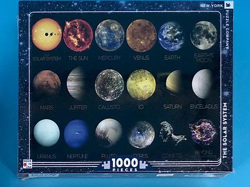 Solar System Puzzle-1,000 piece