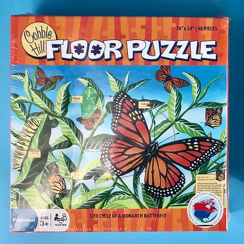 Monarch Floor Puzzle-35 pieces