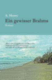 cover; Brahms; Buch; ein gewisser; ein gewisser Brahms; galabuch; A.; A. Henry; Brahms Roman