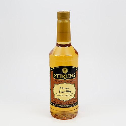 Classic Vanilla Flavor 24.4 Oz. Bottle-WS