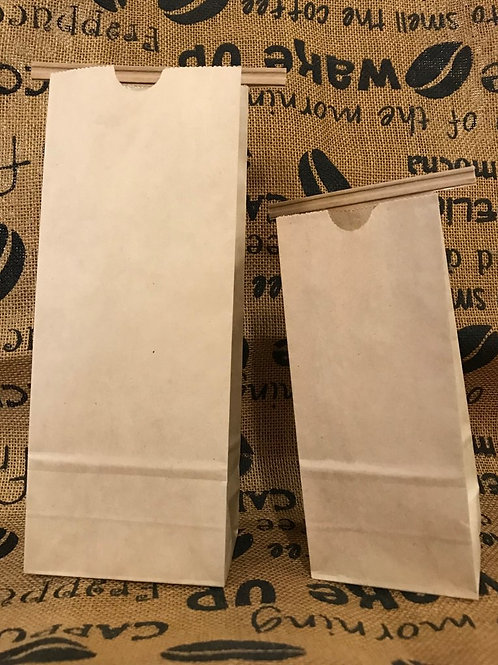 50-Pack of Paper Coffee Bags with Tin Tie-WS