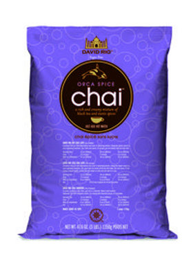 David Rio Orca Spice Sugar Free Chai Tea 3.0 Lb. Bag