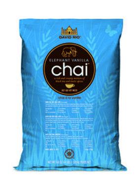 David Rio Elephant Vanilla Chai Tea 4.0 Lb. Bag