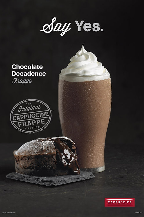 Cappuccine Chocolate Decadence Frappe