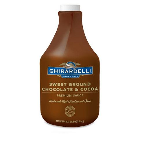 Ghirardelli Sweet Gr. Choc. Sauce-WS
