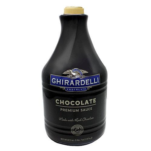 Ghirardelli Dark Choc. Sauce 87 oz. B.-WS