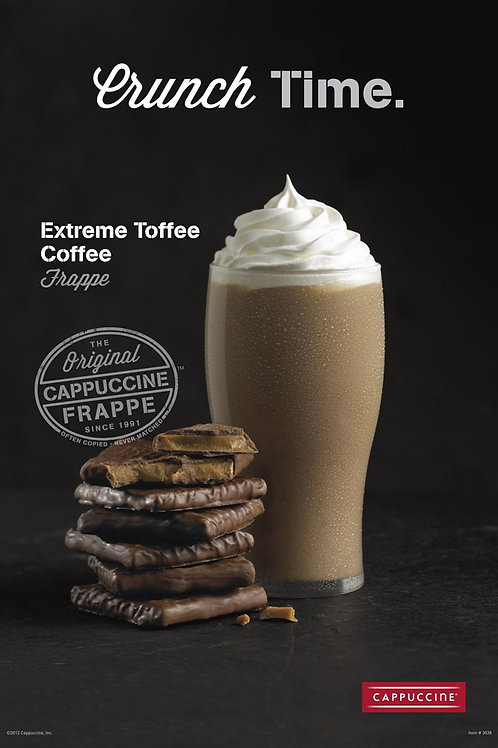 Cappuccine Extreme Toffee Frappe