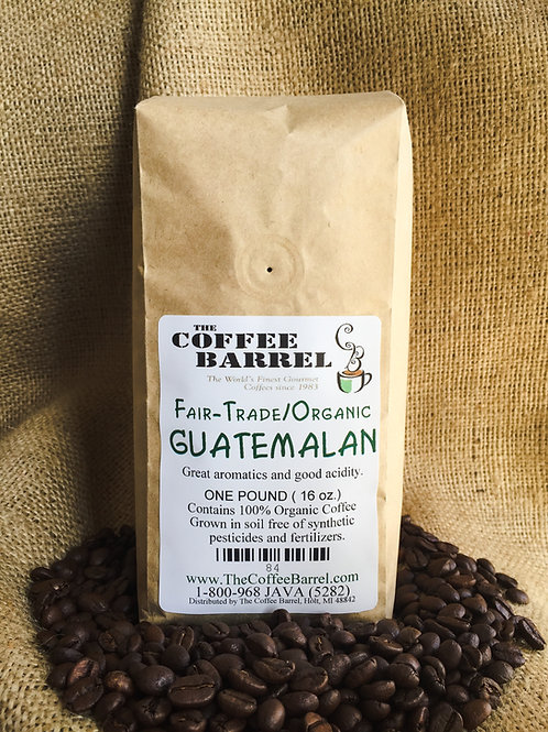 Fair Trade Organic Guatemala
