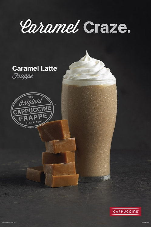 Cappuccine Caramel Frappe-WS