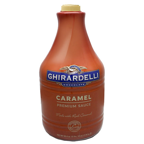 Ghirardelli Caramel Sauce 90 oz. Bottle