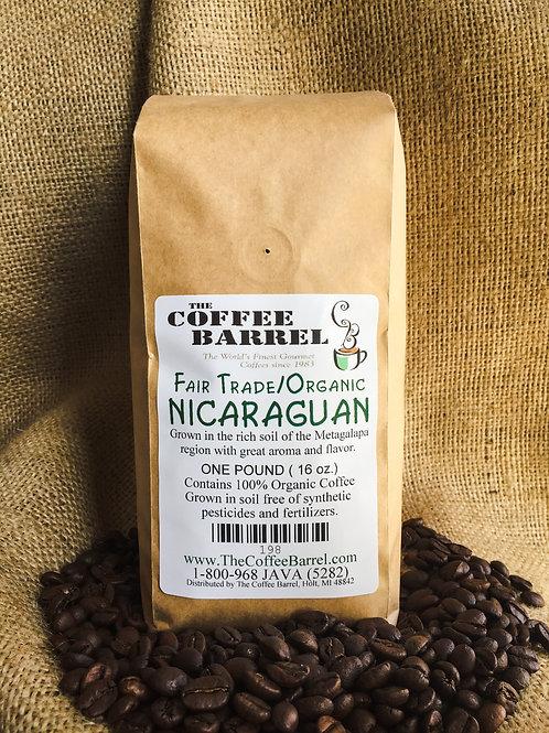 Fair Trade Organic Nicaraguan