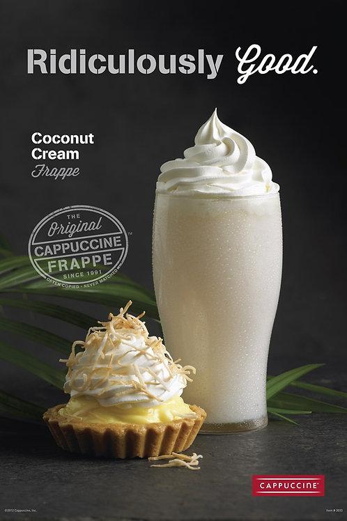 Cappuccine Coconut Cream Frappe