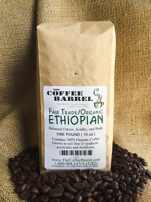 Fair Trade Organic Ethiopian