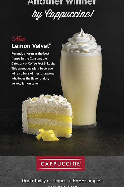 Cappuccine Lemon Velvet Frappe