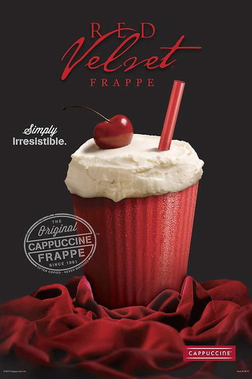 Cappuccine Red Velvet Frappe-WS