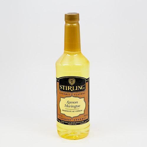 Lemon Flavor 24.4 Oz. Bottle-WS