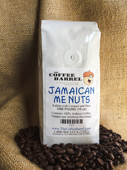 Jamaican Me Nuts