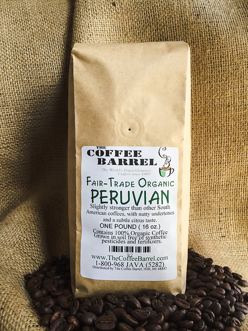 Fair Trade Organic Peruvian