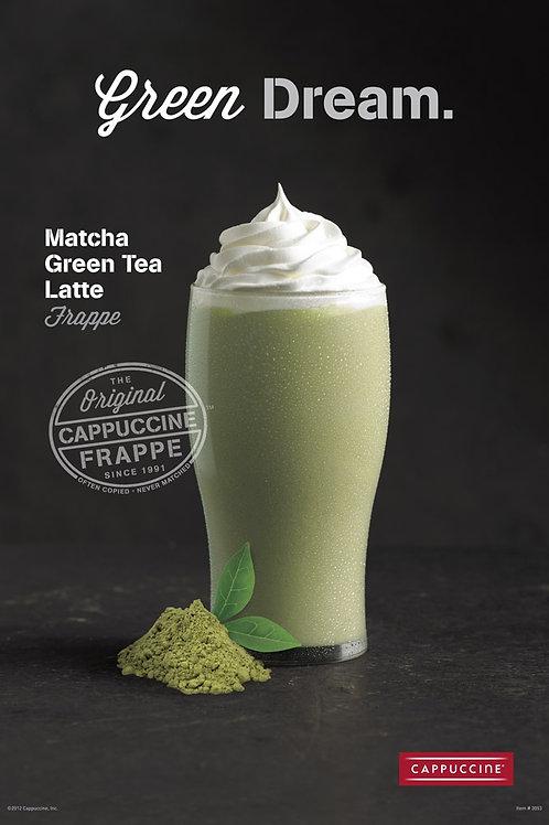 Cappuccine Matcha Green Tea Frappe-WS
