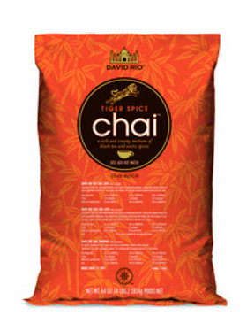 David Rio Tiger Spice Chai Tea 4.0 Lb. Bag-WS