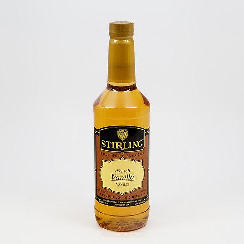 French Vanilla Flavor 24.4 Oz. Bottle-WS