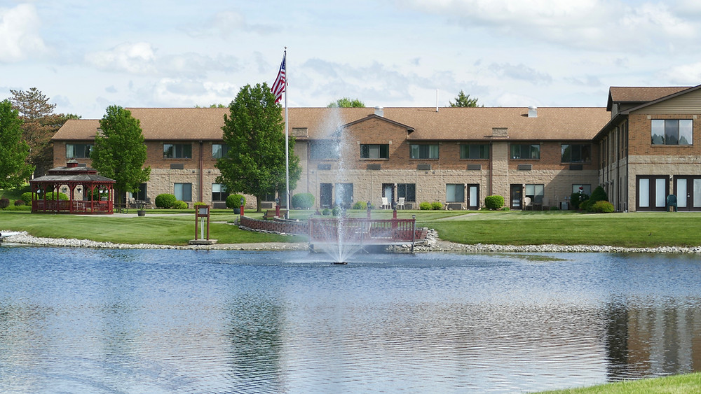 The Cedars Retirement Center in Leo, Indiana