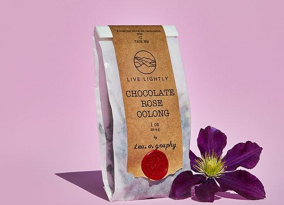 Tea.o.graphy Chocolate Rose Oolong Tea
