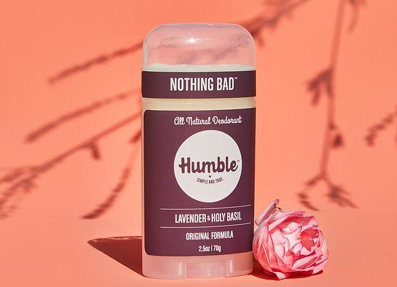 Humble Lavender and Holy Basil Deodorant