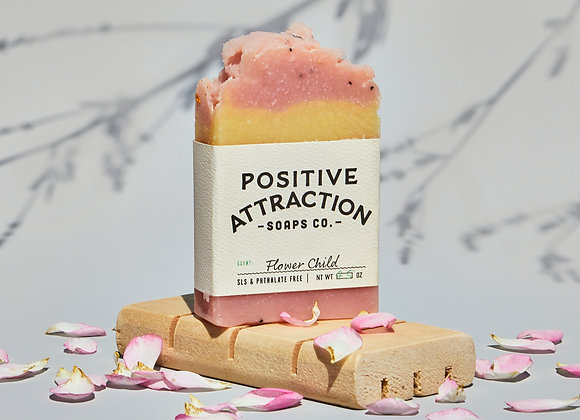 Positive Attractions Flower Child Soap
