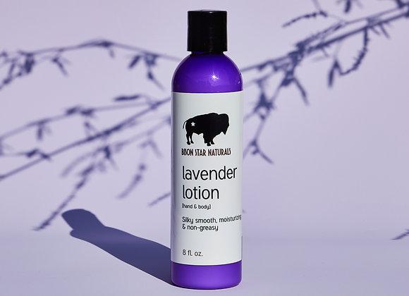 Bison Star Natural Lavender Lotion