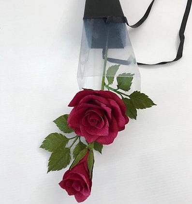 Single Stemmed paper Rose