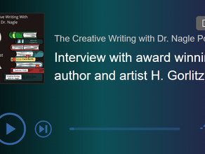 Podcast Feature: Creative Writing with Dr. Nagel