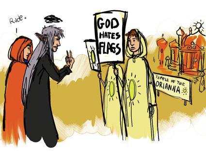 """God Hates Flags"""
