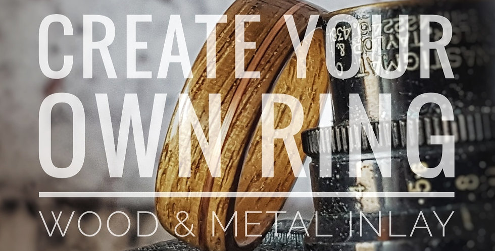 Wood and Metal Inlay - Design Your Own