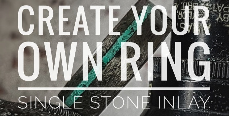 Wood and Stone Inlay - Design Your Own